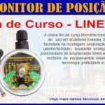 Sensor de posição linear indutivo