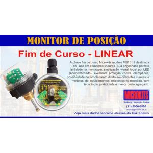 Chave micro switch com haste