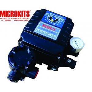Posicionador eletropneumático rotativo